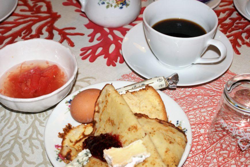 Petit-déjeuner Hôtel Sud Bretagne Pornichet