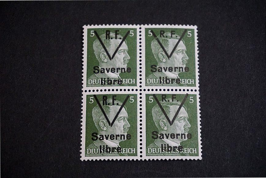 Briefmarken Saverne Drittes Reich