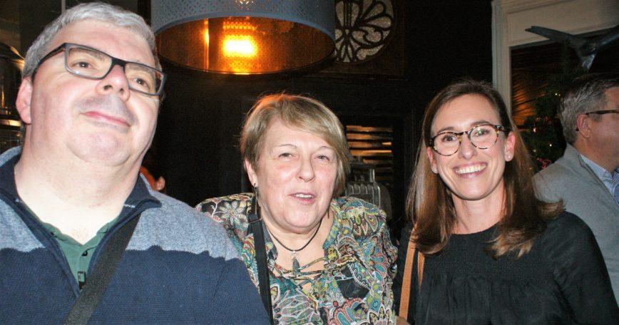 Nicolas Prieur, Martine Saint Pol et Emma Cap
