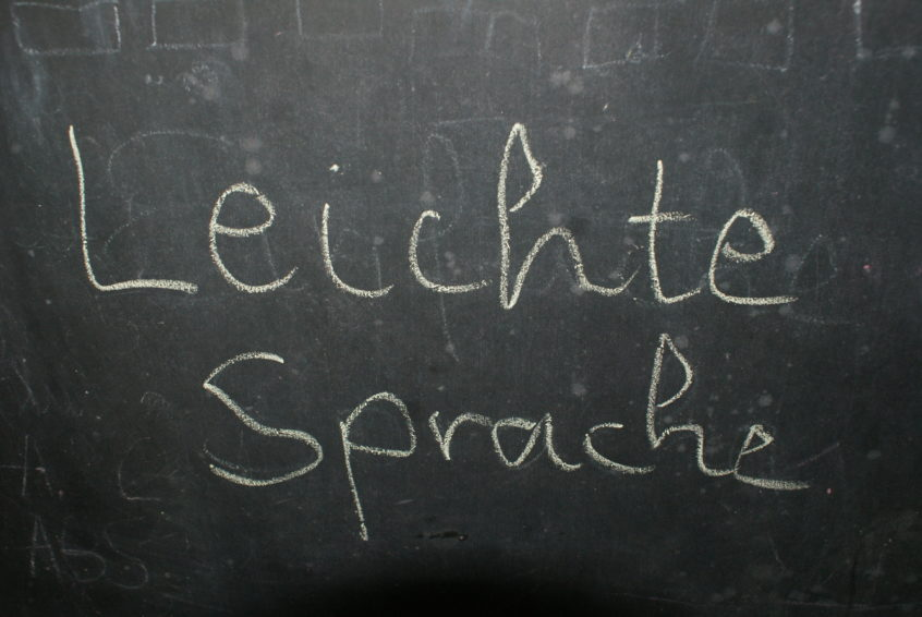 Texte in Leichter Sprache