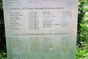 Stele Hermann-Frieb-Park Augsburg