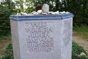 Gedenkstein KZ Seestall