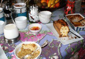Petit-déjeuner d'Andrea et Fred Pornichet