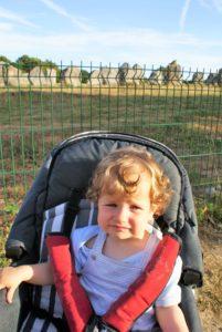 Frankreich mit Baby Bretagne
