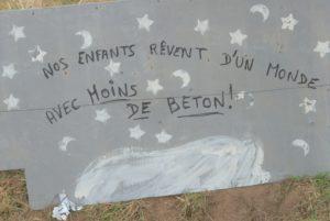 Demo Brétignolles Vendée Frankreich