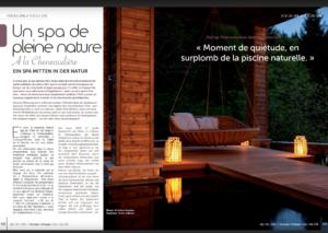 Übersetzung Französisch-Deutsch Artikel Hotel mit Spa