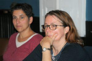 Valérie Lavazay et Kamilia Boudjida Gantier