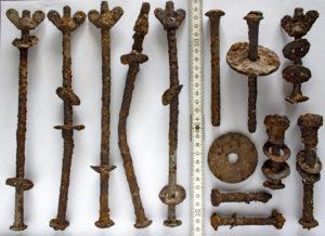 Fundstücke ehemaliges Konzentrationslager Gablingen