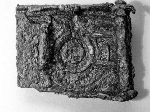 SS-Gürtelschnalle in Gablingen gefunden