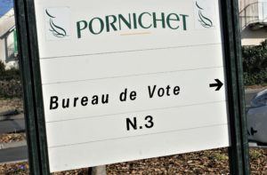 Wahlen in Frankreich Corona Pornichet