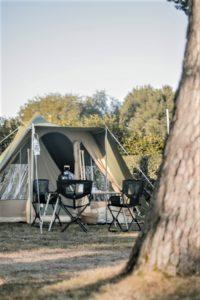 Camping en Bretagne prêt à camper