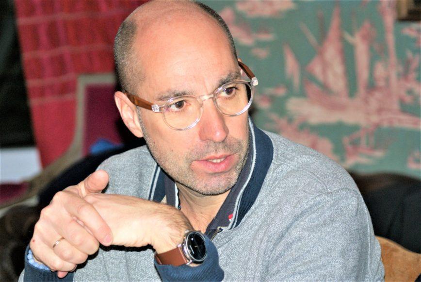 Stéphane Bureau interviewé par Andrea Halbritter traductrice allemande