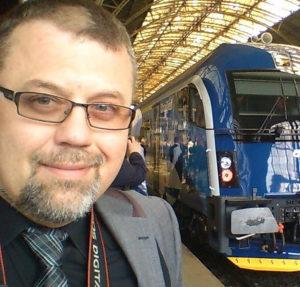 David Krásenský Übersetzer Dolmetscher Logistik Eisenbahnwesen