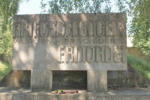 Mahnmal Schießplatz Herbertshausen Dachau
