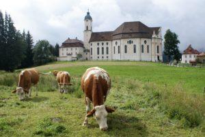 Wieskirche Reiseziel Bayerisch-Schwaben
