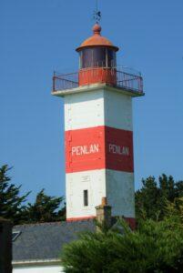 Leuchtturm von Pen Lan Morbihan Bretagne