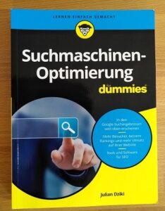 Cover Suchmaschinen-Optimierung für Dummies