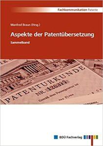 Cover Braun: Aspekte der Patentübersetzung