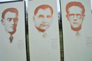 Gedenken an Résistance Châteaubriant 3 Schilder