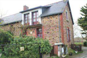 Haus, in dem das Widerstandsmuseum bei Châteaubriant untergebracht ist