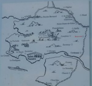 Karte Festung Saint-Nazaire
