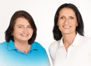 Petra Wagner und Lydia Molea