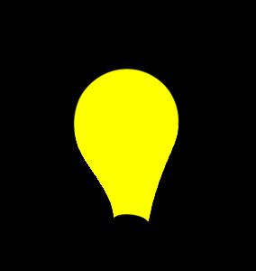 Glühbirne, die leuchtet